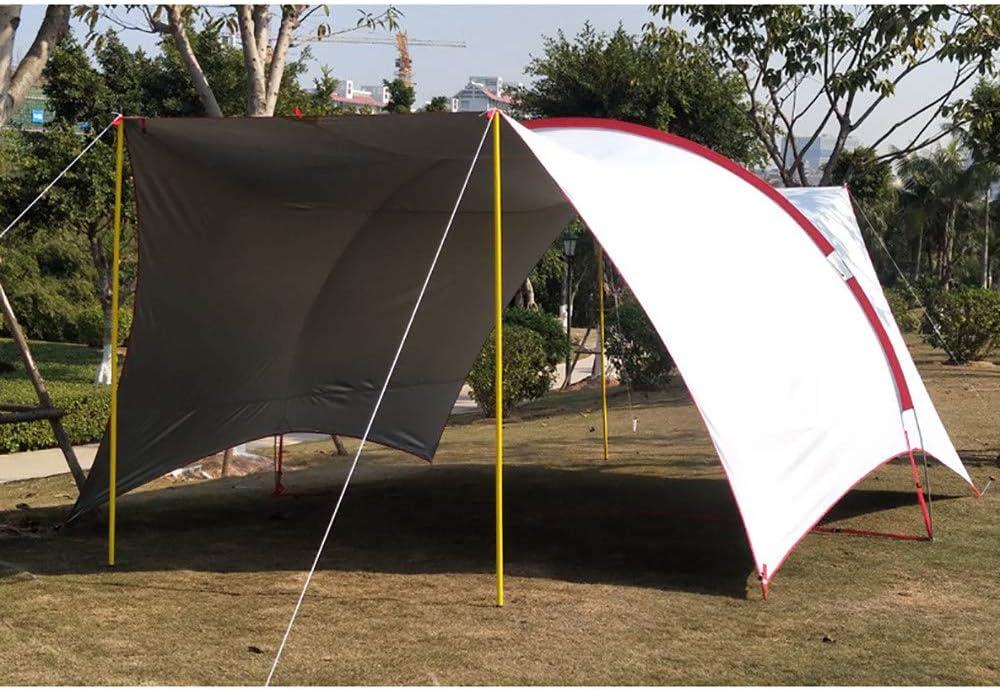 APENCHREN Sombra Vela Impermeable/pérgola para Acampar, 8 Personas ...