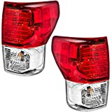 Driver and Passenger Taillights Tail Lamps Replacement for Toyota Pickup Truck 81560-0C090 81550-0C090