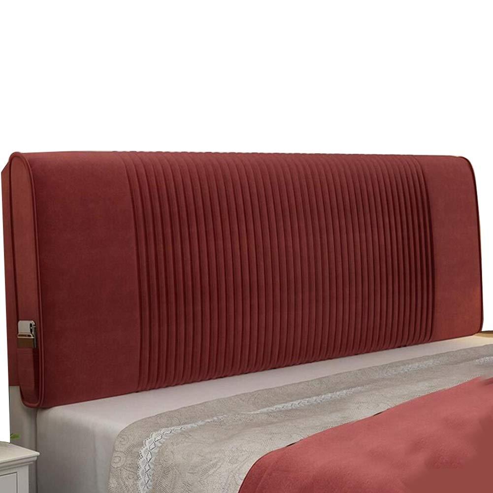 LIANGLIANG Rückenlehne Bett Kissen Schlafzimmer Double Extra Großes Kopfkissen Für Den Rücken Rückenwirbelschutztuch , 5 Farben Farbe : SCHWARZ, größe : 90X60X10cm 5 Größen