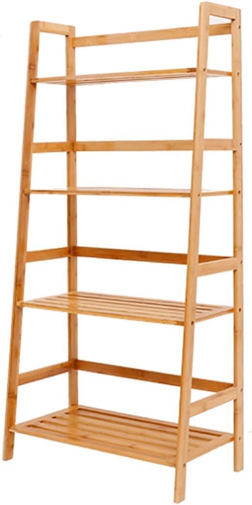 HAIPENG-zhiwujia Estanterías de bambú de la Escalera Estantes del Piso Estante del almacenaje, 2 tamaños Opcional (Tamaño : 57.5 * 31 * 119.5cm): Amazon.es: Hogar