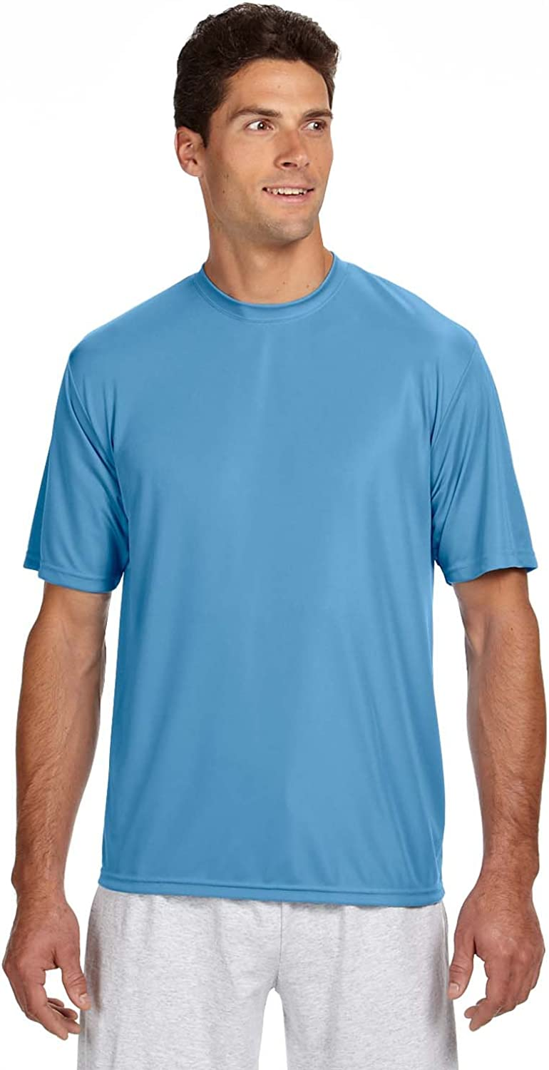A4 Men's Moisture Wicking Cooling Performance T-Shirt