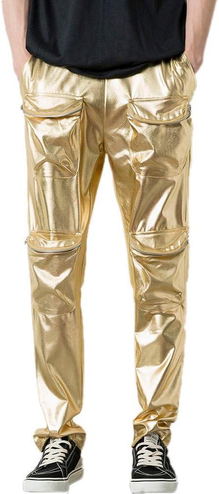 Hombre Pantalones Hip Hop Casual Calle, Pantalones Material ...