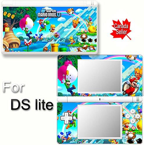 (Super Mario NEW SKIN DECAL VINYL STICKER COVER for Nintendo DS Lite)