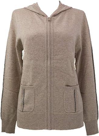 Shephe Womens Cashmere Jacket with Hoody