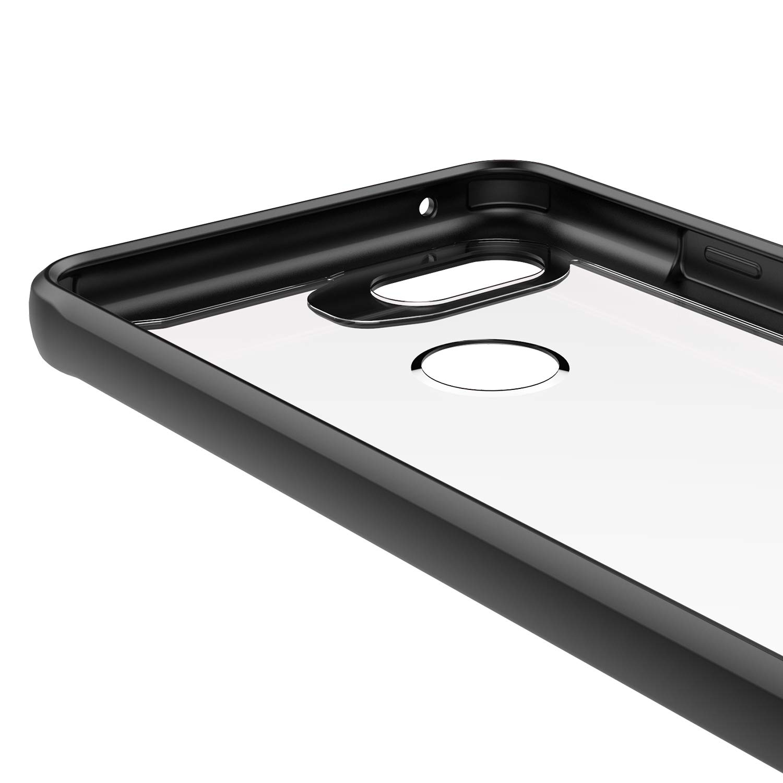 Shockproof Hybrid Hard PC Back /& TPU Frame Protective Case Scratch Resistant Transparent Full Body Back Cover for Google Pixel 3 Red Crystal Clear Pixel 3 Case Slim Fit Tznzxm for Google Pixel 3