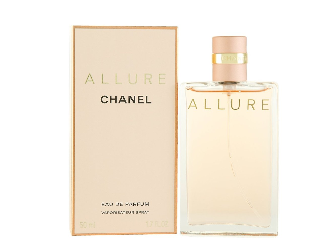 CHȂNEL Allure Eau De Parfum Spray For Women 1.7 FL OZ.