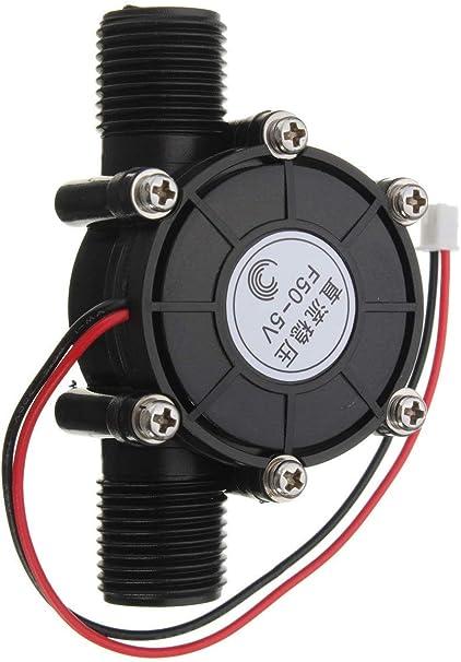 FTVOGUE Generador de turbina de agua (5 V, 10 W, 0-80 V)