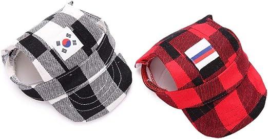 Gorra de béisbol para mascotas, sombrero para el sol para el perro ...