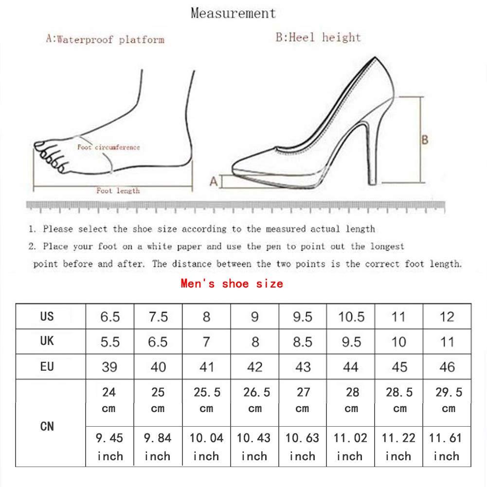 WGFGXQ Traspirante E Resistente all'Usura Scarpe Casual Casual Casual Scarpe da Ginnastica da Uomo,biancared,40 1505dd