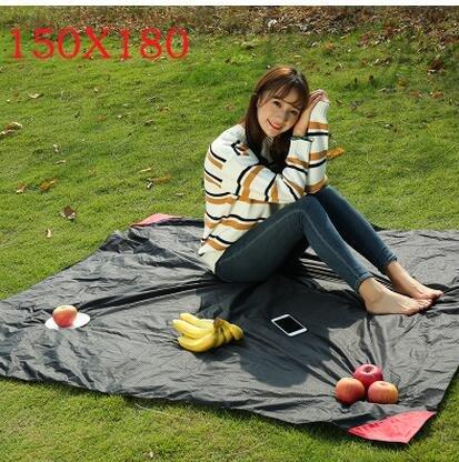 Outdoor - Reise - camping - tasche picknick - decke wasserdichte Rasen matte tragbare PAD Beach - kissen