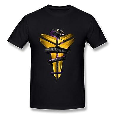 purchase cheap 124be de3d1 Amazon.com  NANAN Men s Lakers Kobe Bryant Logo T Shirts  Clothing