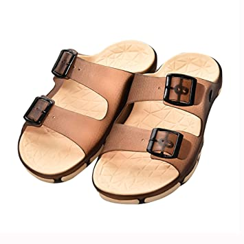 11bd4432479 WSNH888 Fashion Sandals Double Color Bottom EVA Home And Slippers Premium  Double Buckle Boutique Couple Flip