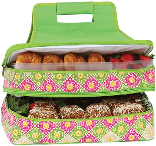 Picnic Plus Entertainer Hot & Cold Food Carrier - Hidden Gazebo