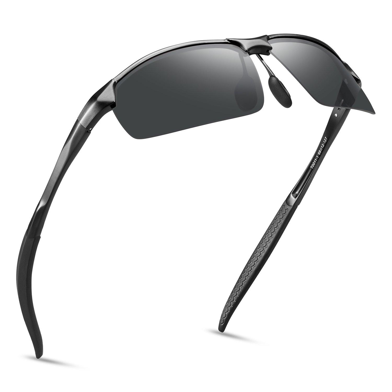 5010e94be3 Amazon.com  SOXICK Polarized Sunglasses for Men Women Anti Glare Safety HD  Driving Glasses  Clothing
