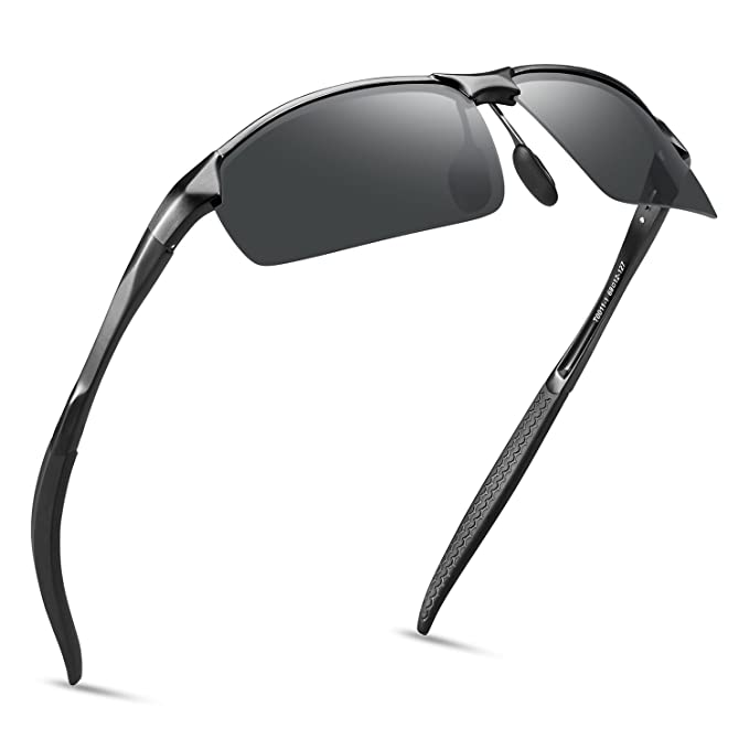 34aa322313 SOXICK Polarized Sunglasses for Men Women Anti Glare Safety HD Driving  Glasses