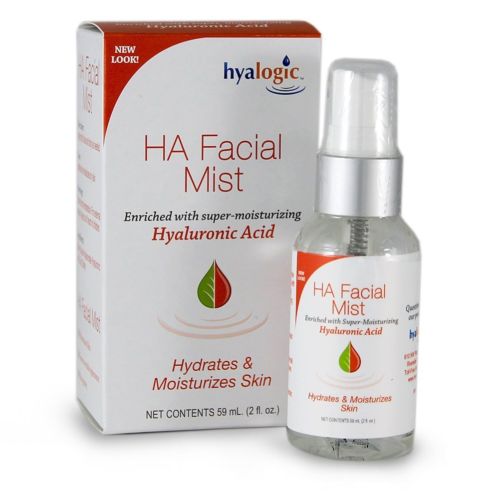 Episilk Facial Mist - Enriched With Super Moisturizing Hyaluronic Acid By Hyalogic - 2 ounces