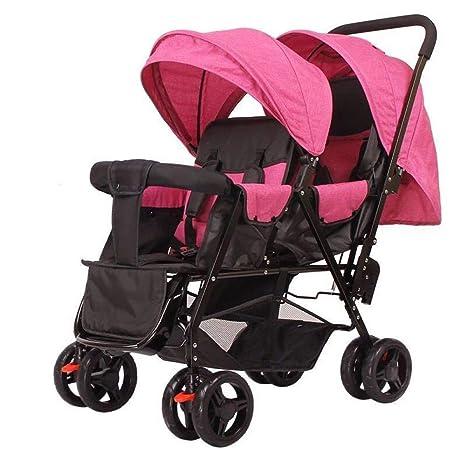 Pink day Cochecito de bebé con Dos Ruedas para Sentarse en ...