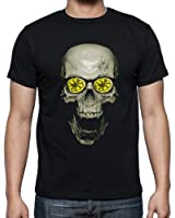 Roses Lemon Slice Men's Fashion Quality Heavyweight T-Shirt.