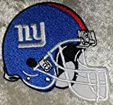 New York Giants Helmet NFL 3.5'' Iron On Embroidered Patch USA Seller!