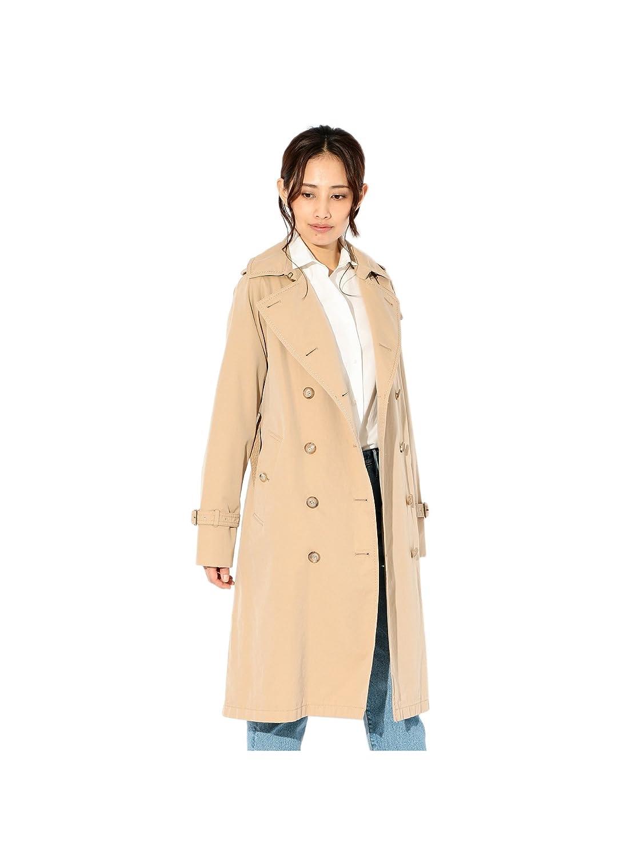 (サンヨー) SANYO <100年コート Aged>ロングトレンチコート T1A61021_ B0787WWXBC  ベージュ(45) 40