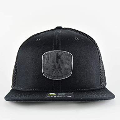 nada pavo Lo siento  Nike SB Skate Trucker Hat Size ONE SIZE (Black): Amazon.co.uk: Clothing