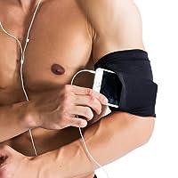 AOOPOO Armbandage Herren Damen Unisex Sport Outdoor Oberarmbandage mit Tasche für Telefon Geld