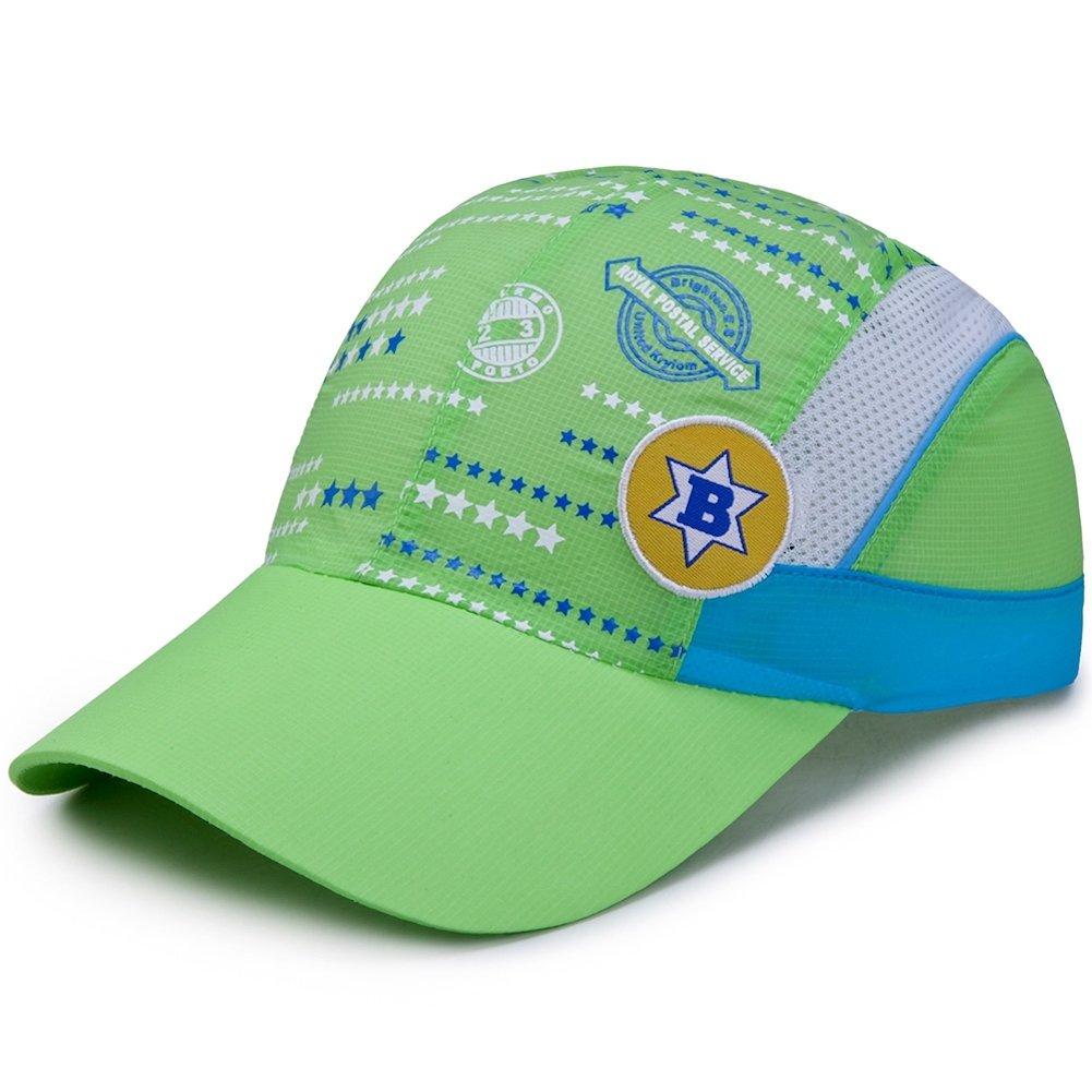 Home Prefer UPF 50+ Child Sun Hat Summer Beach Travel Hat Boys Go to School Hat Green