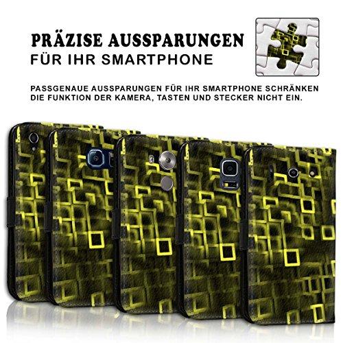 Wallet Book Style Flip Handy Tasche Case Schutz Hülle Schale Motiv Etui für Apple iPhone 6 Plus / 6S Plus - Design Flip MV186