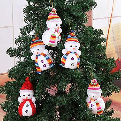 Pendant Drop Ornaments - Exclusive Christmas Decoration 39 Mastree Hanging Decorations Snowman Doll Children S Gift Tiny Toy - Mini Tiny Snowman Fashion Decor Nutcracker Reborn Toy Christmas House -