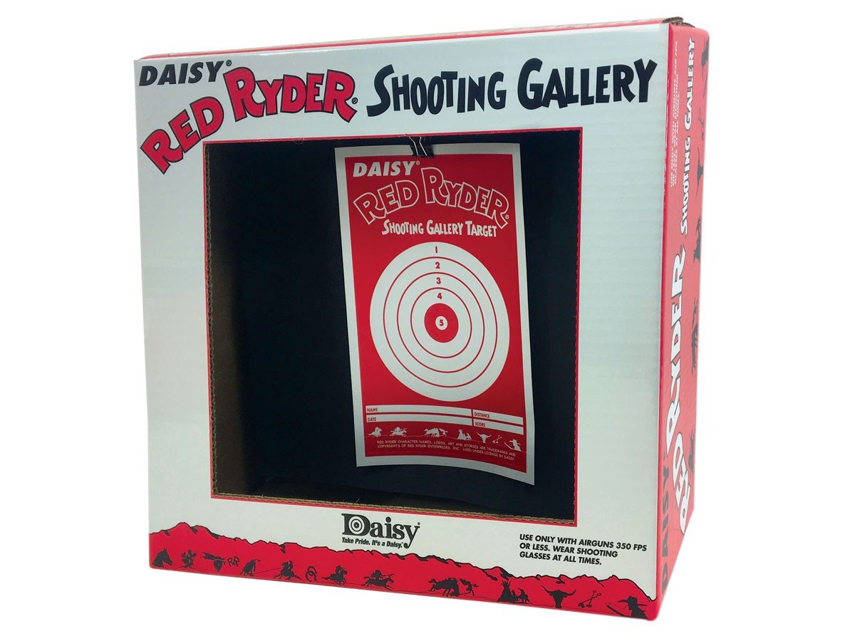 Daisy 3164 Red Ryder Shooting Gallery Target Box