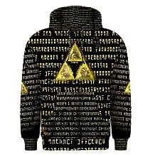 New Legend Of Zelda Triforce Nintendo game Design Full 3D Print Men's Hoodie Sweaters XS-3XL