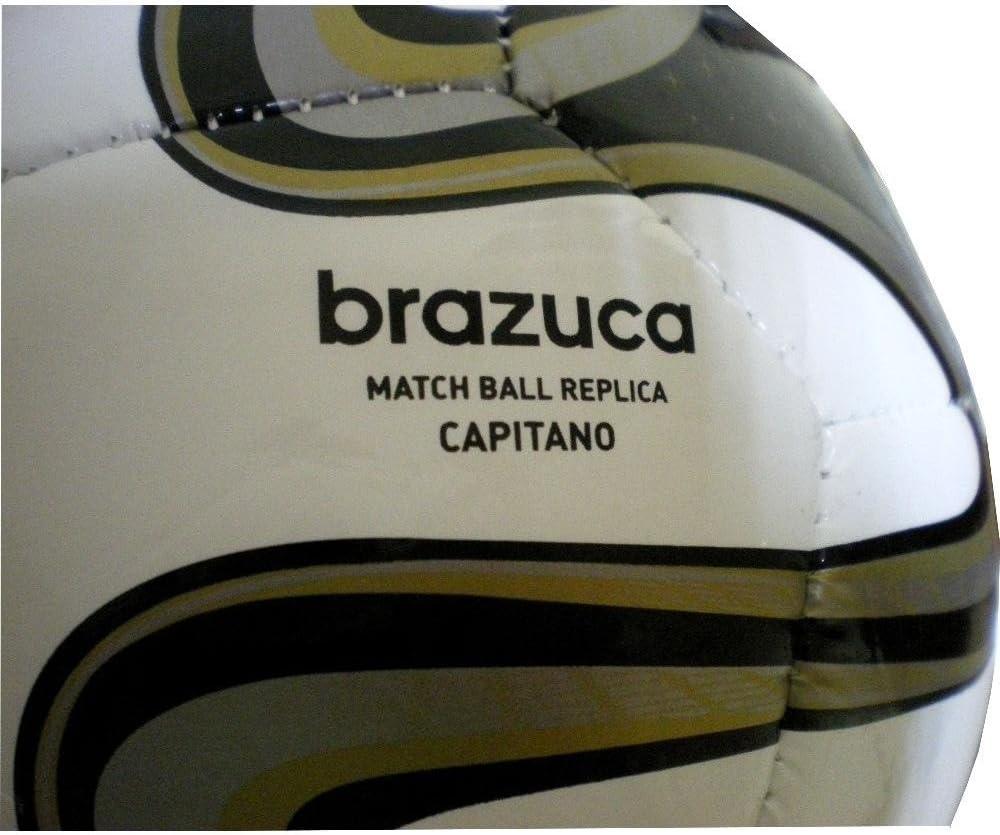 adidas WC14 Real Madrid C.F. - Balón de fútbol, Color Blanco/Negro ...