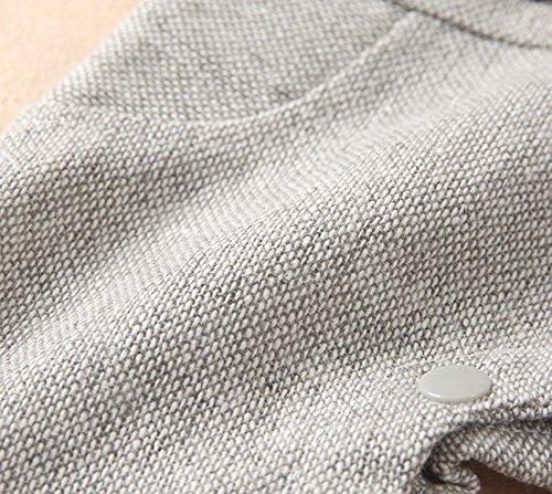 Mandward Baby boys' Infant short Sleeve Romper With Bowite(13642BK95)BLK/BLU, 18-24 MOS