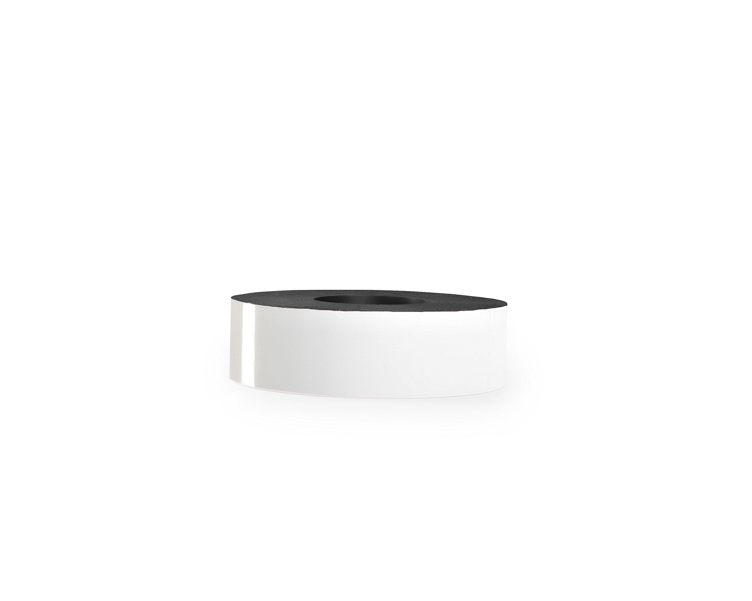 30 Mil Dry Erase Magnetic Strip Roll - White - 2'' X 25'