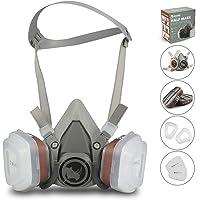 RSM bescherming halfmasker voor verfspatten, stof, bescherming van geurvermindering voor sproei-, sanering, lak- en…