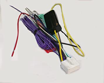 61twekWYpIL._SX355_ amazon com clarion wire harness nx409 nx500 nx501 np400 nz409 clarion nx500 wiring harness at soozxer.org