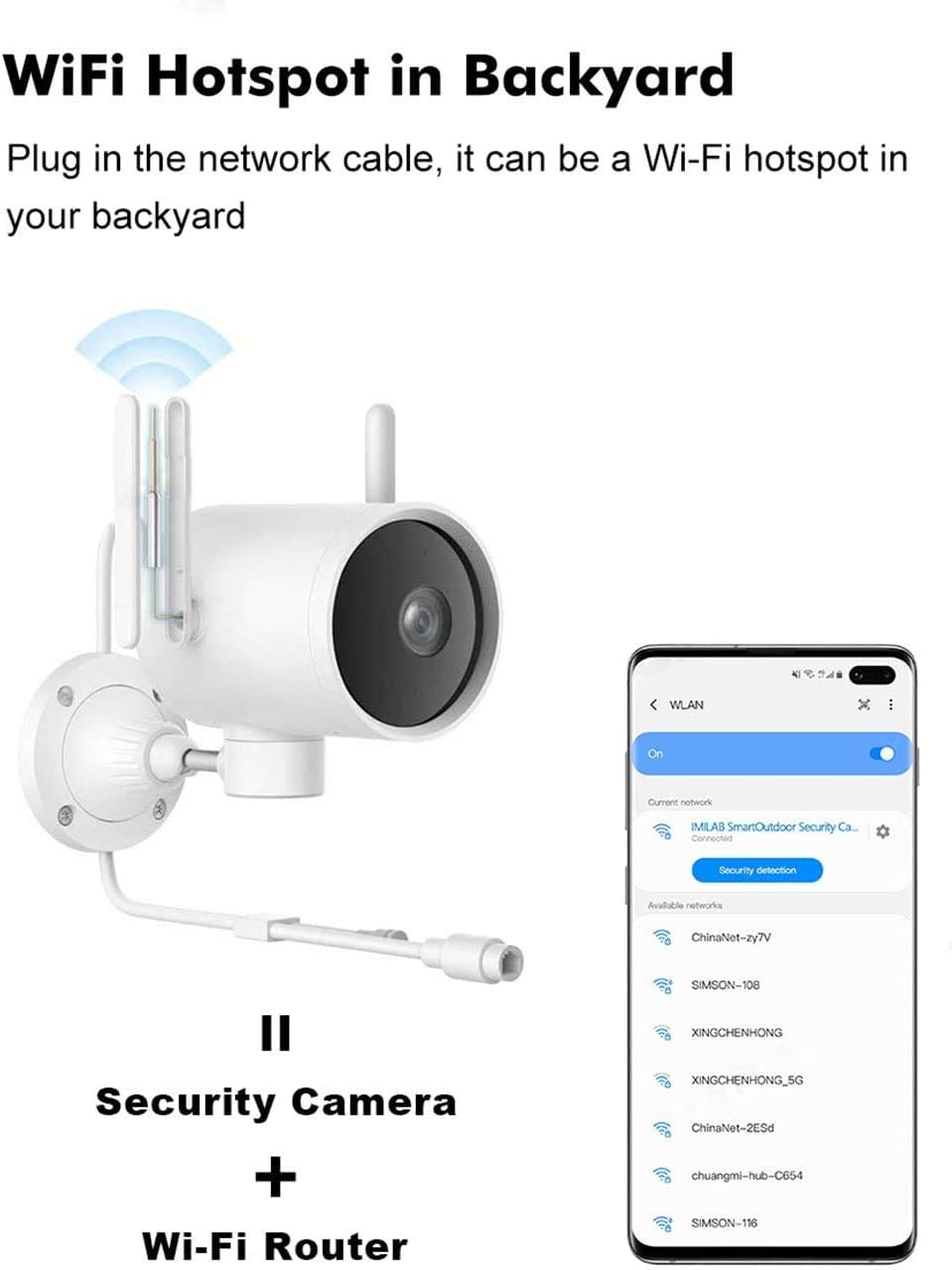 3mp Ptz Wifi Ip Camera Outdoor Imilab Ec3 1296p Hd Wifi Surveillance Camera With Two Way Audio Night Vision Motion Detection Activity Alarm Deterrent Alarm Baumarkt