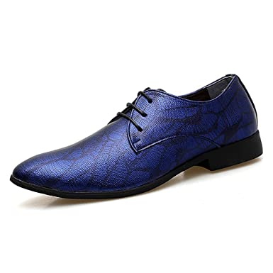 4df8de49bbab7 Amazon.com: Gobling Men's Fashion Party Dress Shoes, Personality ...