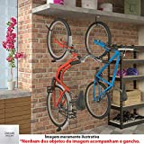 Suporte para Bicicleta Tipo Gancho Fixação Teto/Parede GPB-CZ