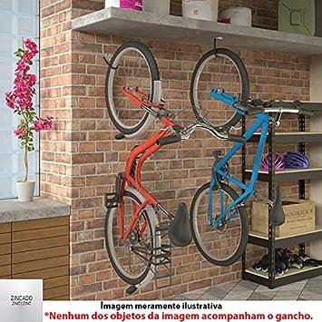 9d4b2b098 Suporte para Bicicleta Tipo Gancho Fixação Teto Parede GPB-CZ ...