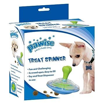 "Pawise ""Treat Spinner dispensador de Comida Juguete para Perros."