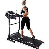 Sparnod Fitness STH-1200 (3 HP Peak) Automatic Treadmill (Free Installation Service) - Foldable Motorized Treadmill for…