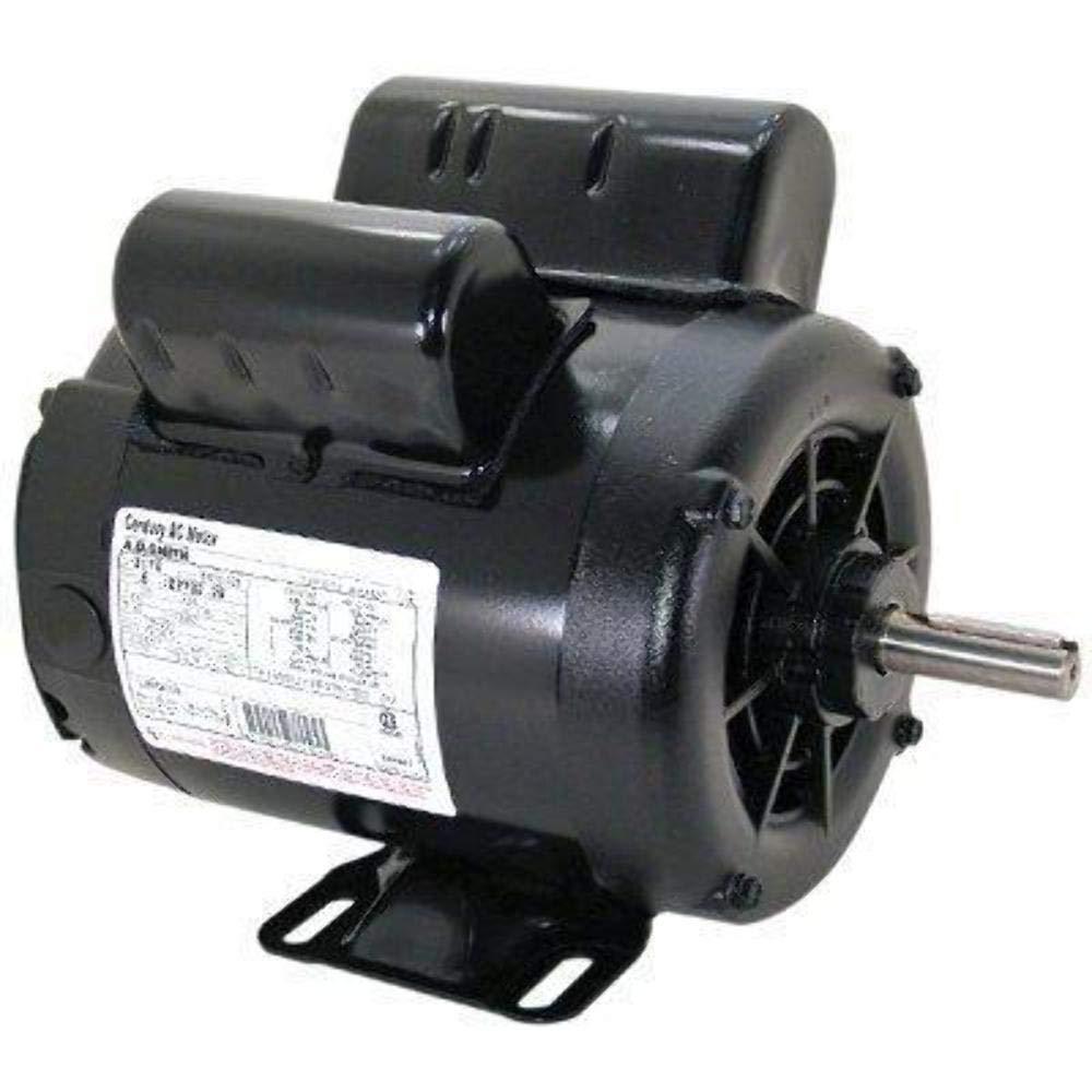2 HP SPL 3450 RPM M56 Frame 115/230V Air Compressor Motor - Century Old Delco Electric Motor Wiring Diagram Volt on
