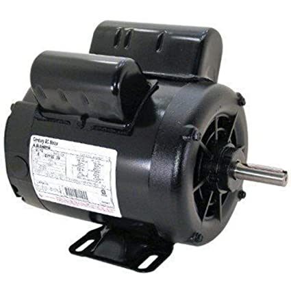 2 HP SPL 3450 RPM M56 Frame 115/230V Air Compressor Motor - Century # B381 - Electric Fan Motors - Amazon.com