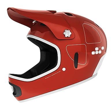 POC Cortex Flow - Casco para BMX rojo bohrium red Talla:M-L/55-
