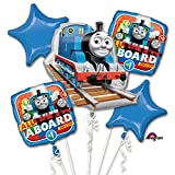 Thomas The Tank Engine All Aboard Bouquet Of Balloons