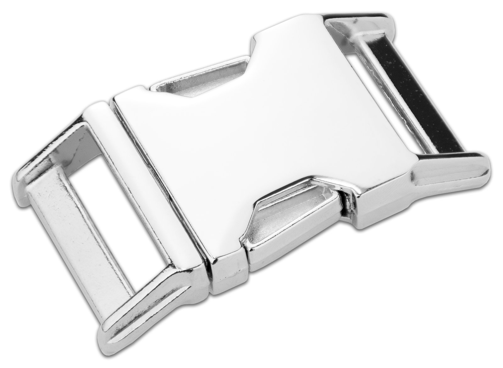 50-Country Brook Design | 5/8 Inch Metal Contoured Side Release Buckles by Country Brook Design