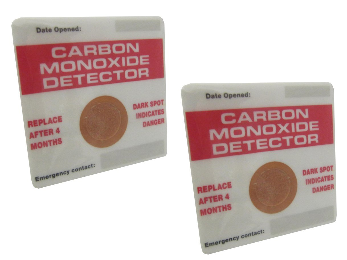 Unicom 51169 CO Detector Patches Twin Pack