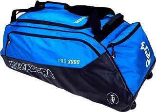 2019 Kookaburra Pro 3000 Sac à roulettes de Cricket Bleu ou Kaki