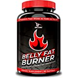 CLA - Belly Fat Burner Weight Loss Pills to Lose Stomach Fat & Eliminate Bloating - for Women & Men - 3,000mg Conjugated…